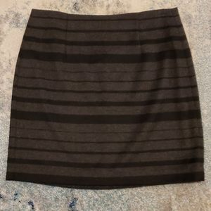 NWT Banana Republic wool mini skirt